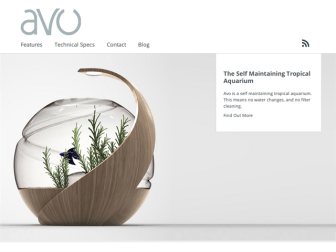 イギリスで開発中のセルフクリーニング水槽「Avo」がすごい?