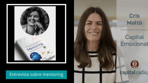 Entrevista en Capital Radio para hablar de mi nuevo libro sobre mentoring