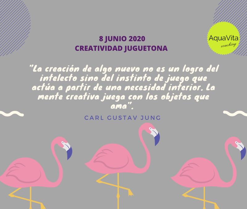 Postales desde el cielo… 8 Junio 2020: Creatividad Juguetona