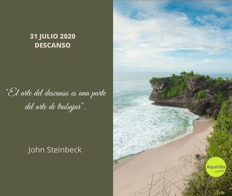 Postales desde el cielo… 31 Julio 2020: Descanso