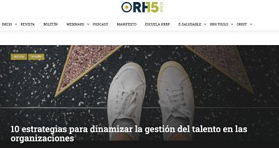 Nueva colaboración con el Observatorio de Recursos Humanos: dinamizar el talento