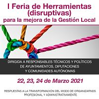 Participo en la I Feria de Herramientas Disruptivas para la gestión local presentando The Management Challenge