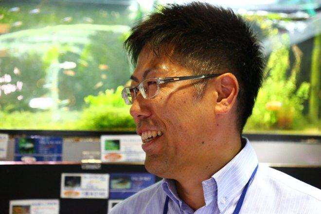 ▲KOTOBUKI・杉田雅司営業部係長