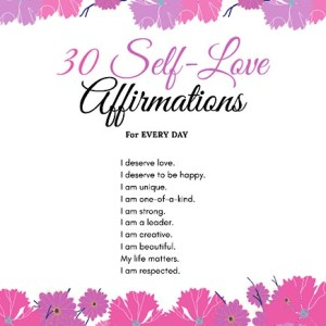 30 Self-Love Affirmations