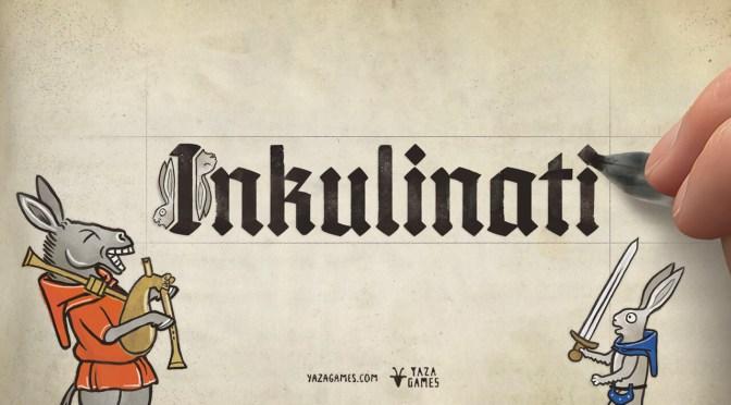Yaza Games presenta la demo de su nuevo juego: Inkulinati, un fantástico duelo entre ilustradores medievales.