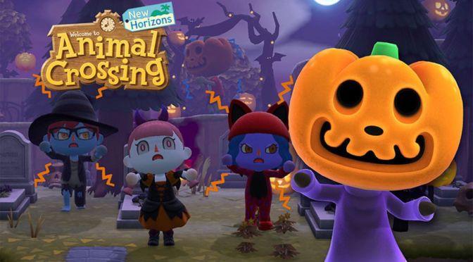 animal crossing: evento especial de halloween
