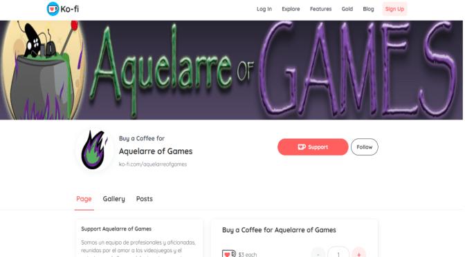¡Ya puedes invitarle un café a las chicas de Aquelarre of Games!