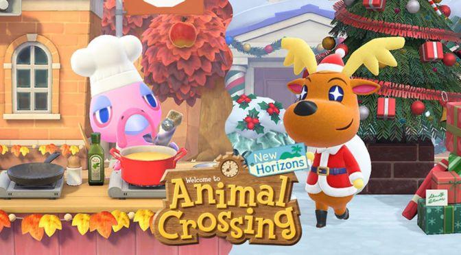 Animal Crossing:  Actualización diciembre