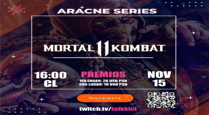 Mortal Kombat 11: torneo mixto latam Aracne Series – 15 de noviembre
