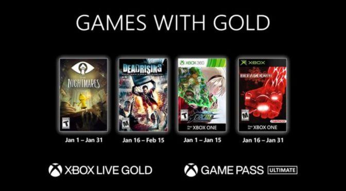 Xbox Gold: los juegos gratuitos para enero de 2021