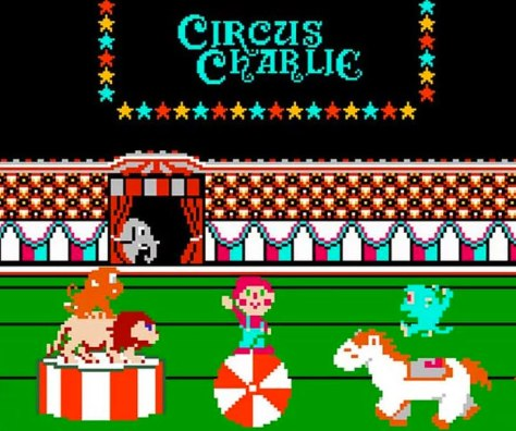 RETROGAMES: RECORDAMOS CIRCUS CHARLIE