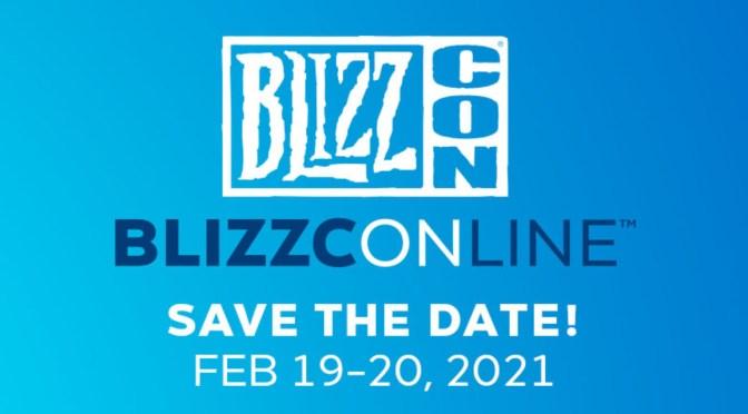 Blizzconline 2021 celebrará los 30 años de blizzard este 19 y 20 de febrero