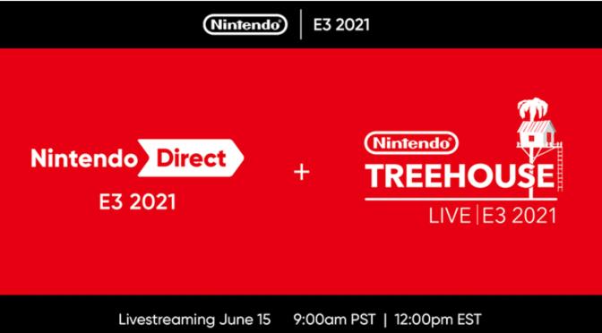 NINTENDO DIRECT 2021 se suma a E3
