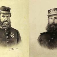 Dom Pedro II e Deodoro da Fonseca na Guerra do Paraguai