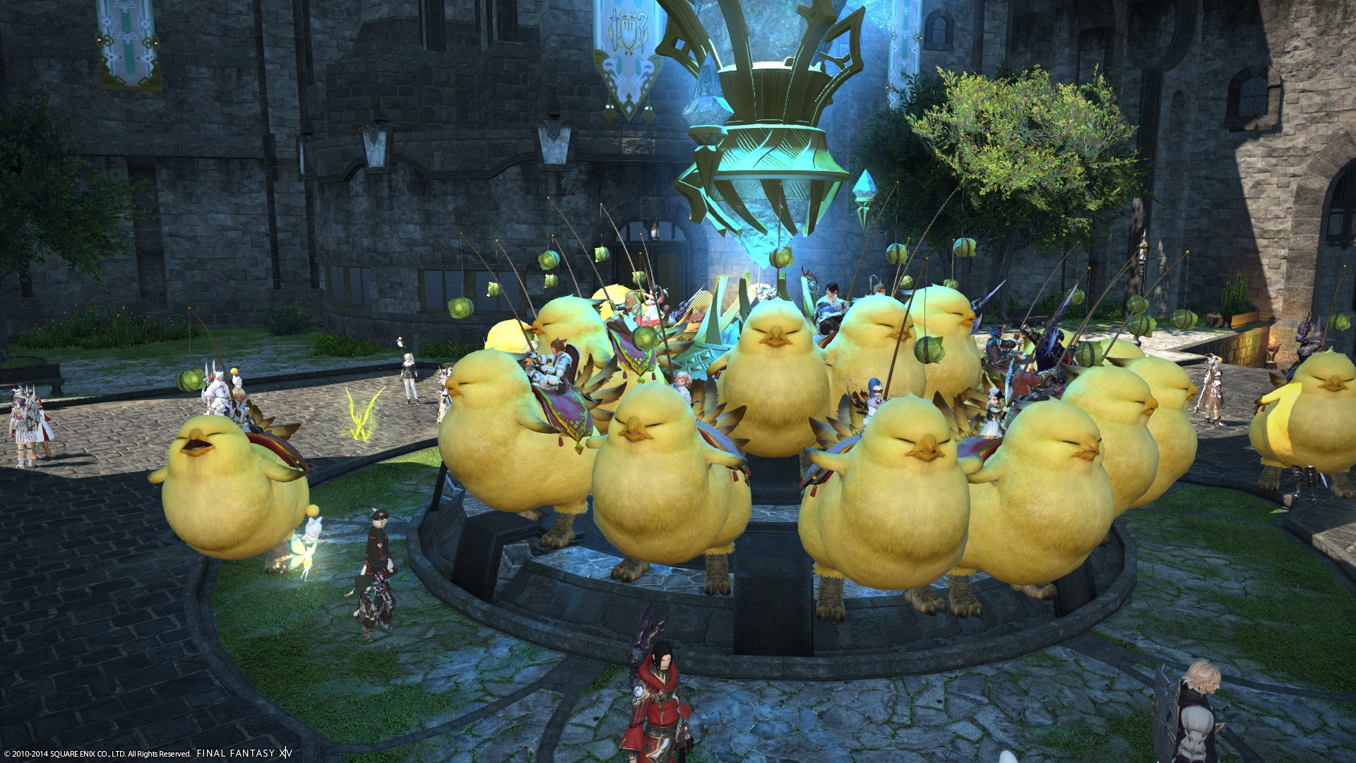 Fat Chocobo The Best Thing To Hit FFXIV The Interblag