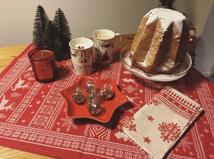 Desayuno Rojo Navidad