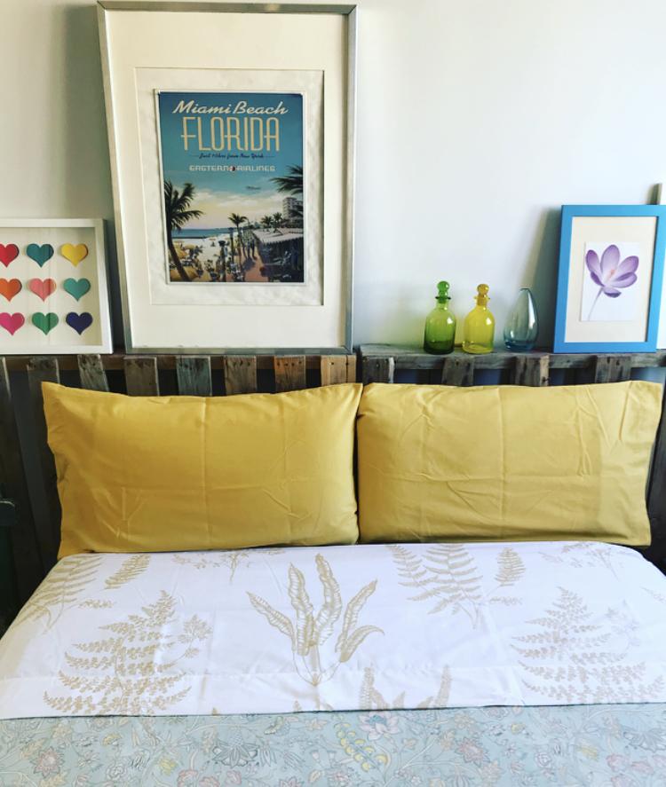 Detalles primaverales en nuestro dormitorio - Zara Home