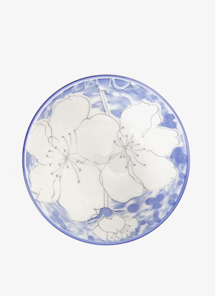 Bowl Porcelana Flores de Zara Home