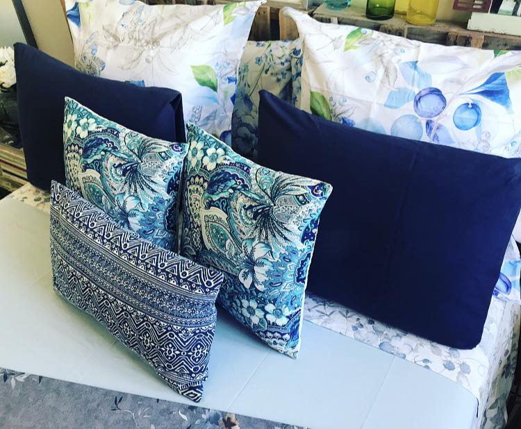Estampados Azules de Zara Home en Nuestro Dormitorio