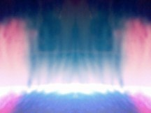 Foto Kirlian barrera de luz