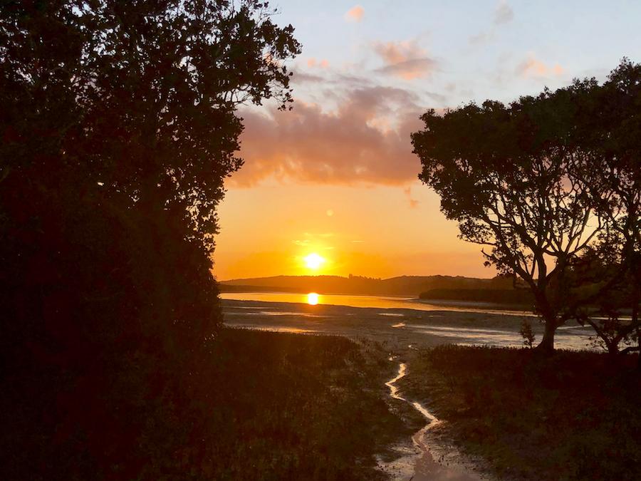 Primera noche. Port Albert Domain, en la desembocadura del Topuni River