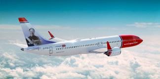 Norwegian en vuelo