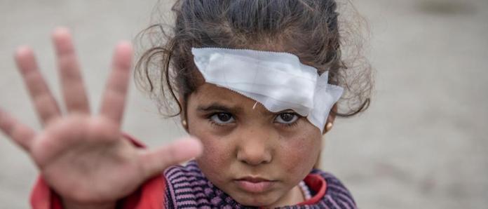 Las niñas están más expuestas en los conflictos bélicos