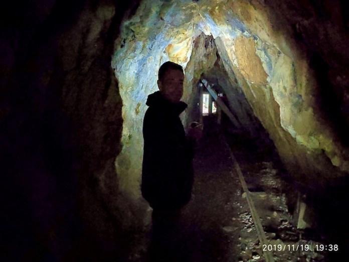 mina de oro de Karangahake. Nueva Zelanda
