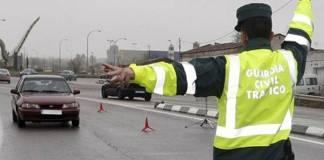 Guardia Civil: controles de tráfico por las medidas de confinamiento