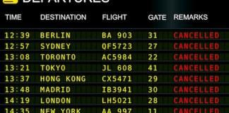 vuelos cancelados
