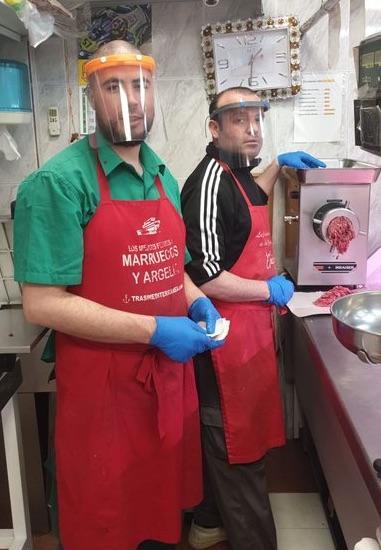 Leganés: mascarillas 3D elaboradas en la Universidad Carlos III se han distribuido en el comercio local