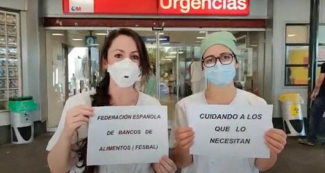 Sanitarios La Paz campaña banco de alimentos