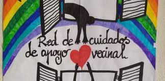 Logo en Facebook de la Red Solidaria de Villa de Vallekas