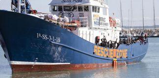 Aita Mari, barco de de rescate de la ONG Salvamento Marítimo Humanitario (SMH)