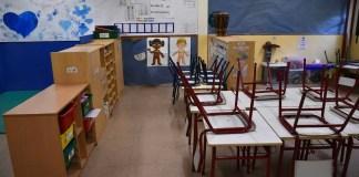 Aulas de educación primaria en Madrid
