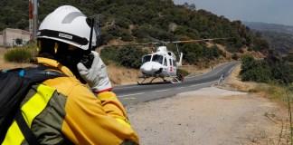 CAM incendios forestales brigada