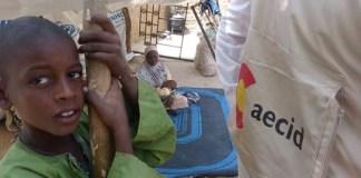 Campo de refugiados en Diffa, Níger. © AECID