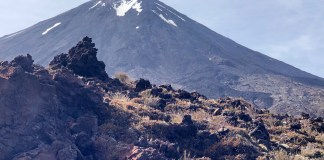 El Mount Ngauruhoe, conocido como el Monte del Destino del Señor de Los Anillos