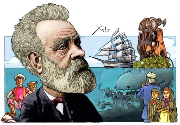 Julio Verne por Xulio Formoso