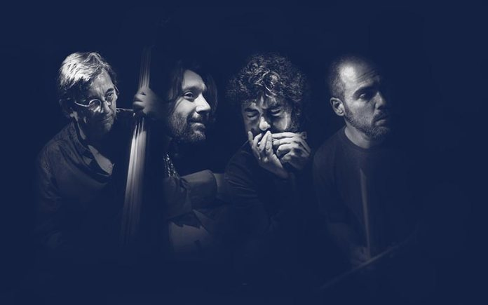 Cuarteto formado por Colina, Carmona, Serrano y Barrueta