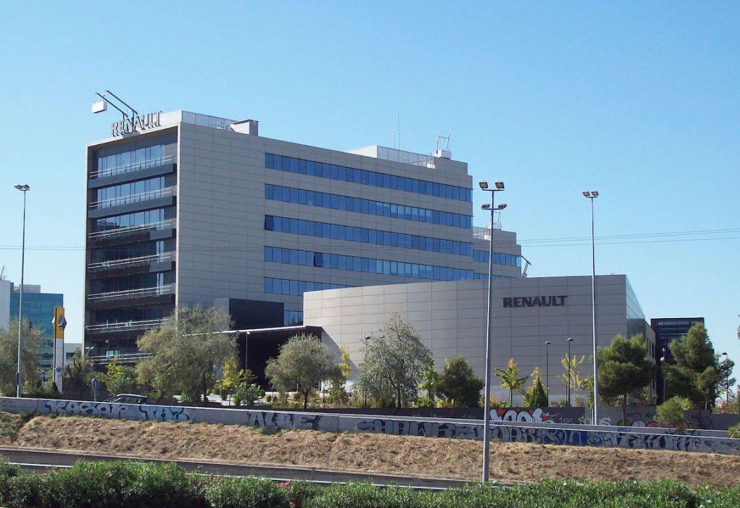 Sede Renault Madrid España
