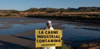 Greenpeace carne industrial