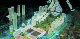 Maqueta digital proyecto Madrid Nuevo Norte