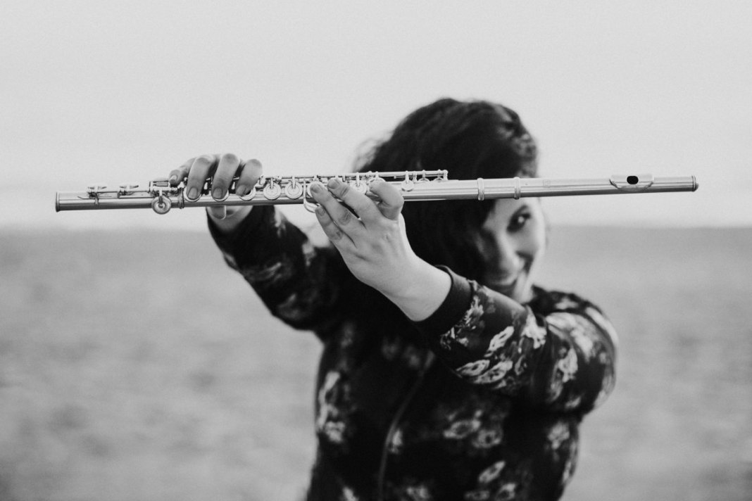 Trinidad Jiménez flauta