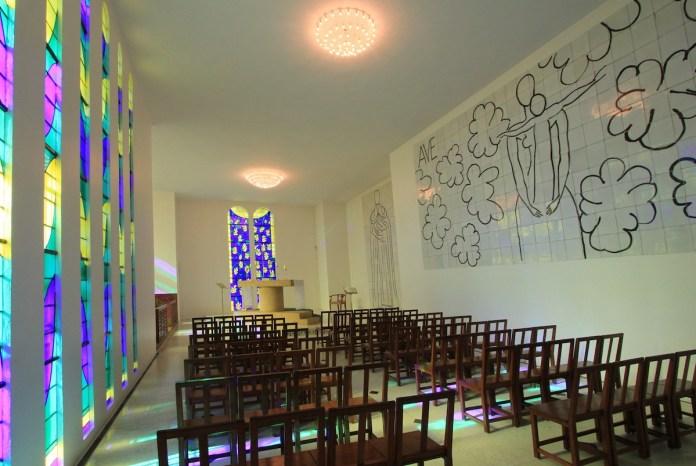 Matisse: capilla del rosario, Vence