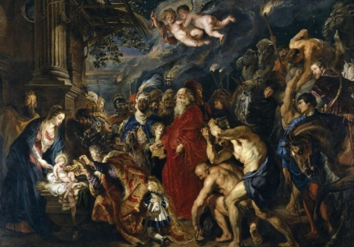 Rubens adoración de los Reyes Magos
