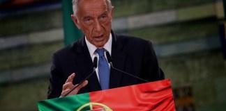 Marcelo Rebelo de Sousa presidente de Portugal