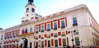 Real Casa de Correos, sede del gobierno de la Comunidad de Madrid