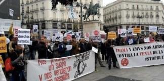 IVIMA EMVS protestas fondos buitre foto archivo