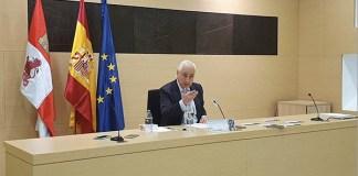 José Luis Concepción, presidente del Tribunal Superior de Justicia de Castilla y León (TSJCyL).